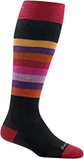 product image for Darn Tough Shortcake OTC Cushion Socks - Women's Black Large