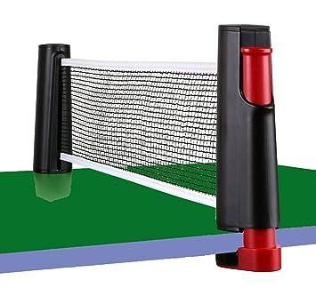 Amazon.com : JADE TRADE Retractable Table Tennis Net Portable ...