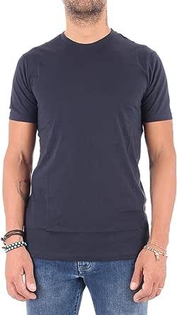 Armani Exchange A|X Mens 8NZT74ZJA5Z Solid Colored Basic Pima Crew Neck Short Sleeve T-Shirt