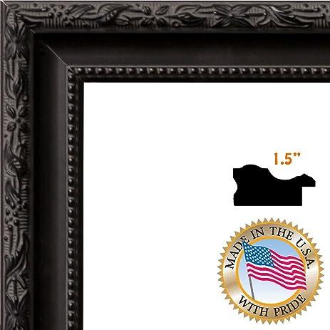 Amazon.com - ArtToFrames 24x34 / 24 x 34 Picture Frame Black Frame ...