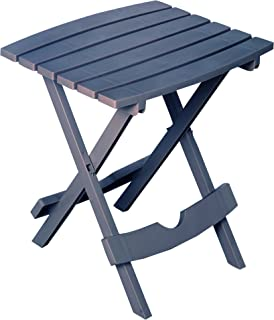 product image for Adams Manufacturing 8500-94-3901 Plastic Quik-Fold Side Table, Bluestone