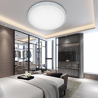 VINGO W LED Kristall Deckenleuchte Sternenhimmel Kaltweiß - Schlafzimmer sternenhimmel
