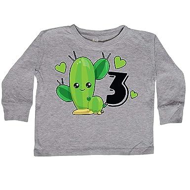 3rd Birthday Green Toddler Long Sleeve T-shirt