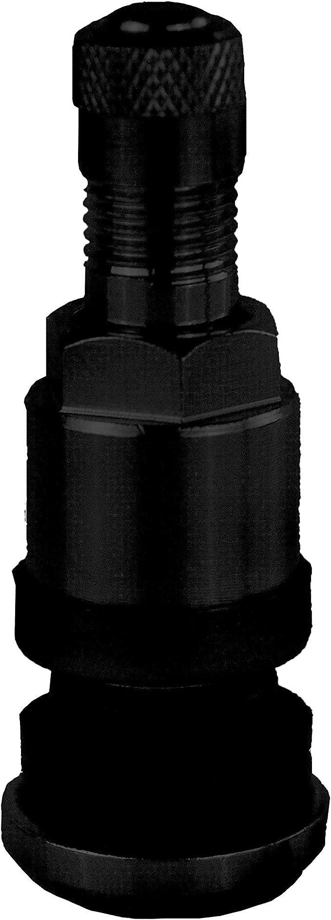 Tr416 Schwarz Metallventil Stahlventil Schwarz Ms525 Für 11 3 Felgenloch Mit 11 Sw Inkl Pvc Unterlegscheibe Beutel á 4 Stück Auto