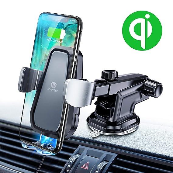 Amazon.com: Cargador de coche inalámbrico para teléfono ...