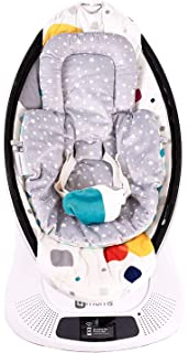 Car Seat Insert 2 Pack Infant Insert Compatible With 4Moms Mamaroo and Rockaroo Soft Plush Minky Car Seat Head Support Inser Rockaroo and Mamaroo Newborn Insert Reversible Infant Car Seat Insert