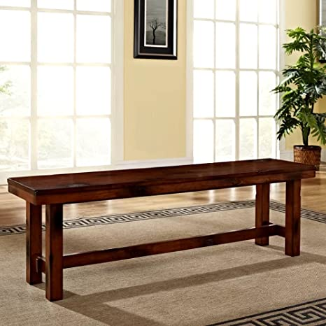 Peachy Amazon Com Plain Wooden Bench For Dining Table And Patio Uwap Interior Chair Design Uwaporg