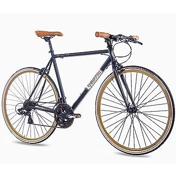 CHRISSON 28 pulgadas Urban bicicleta de carreras vintage Road 3.0 con 21 g Shimano A070