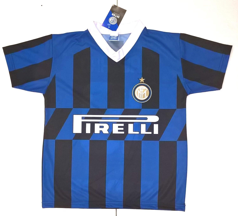 Completo LAUTARO Inter Prodotto Ufficiale F.C Internazionale 2019//2020 Bambino Uomo Maglia Pantaloncini Pantaloncino Home 10 Lautaro Martinez
