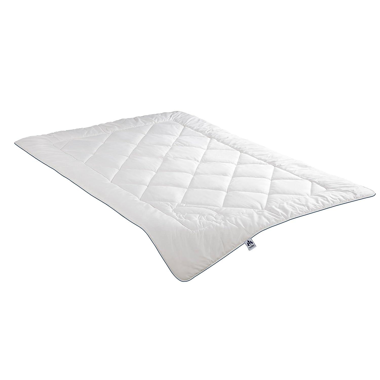 Irisette Duo-Steppbett Naturhaar Faser weiß Größe 200x220 cm