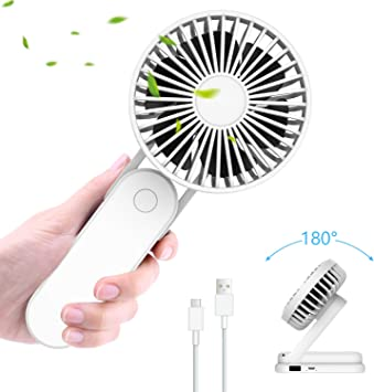 ITSHINY Plegable Mini Ventilador de Mano, Ventilador USB ...