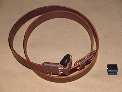 Reproduction WWII German K98 Mauser Rifle Leather Sling Keeper