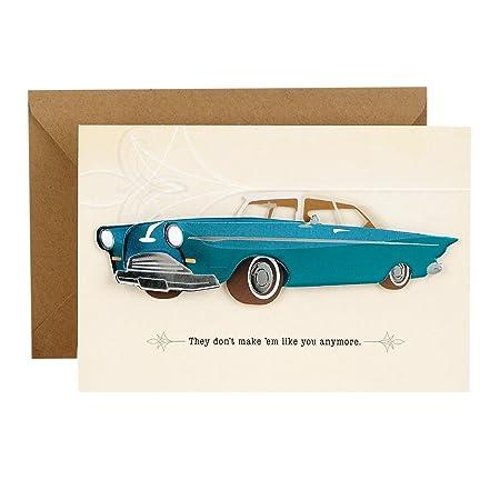 Vintage Classic Car Card