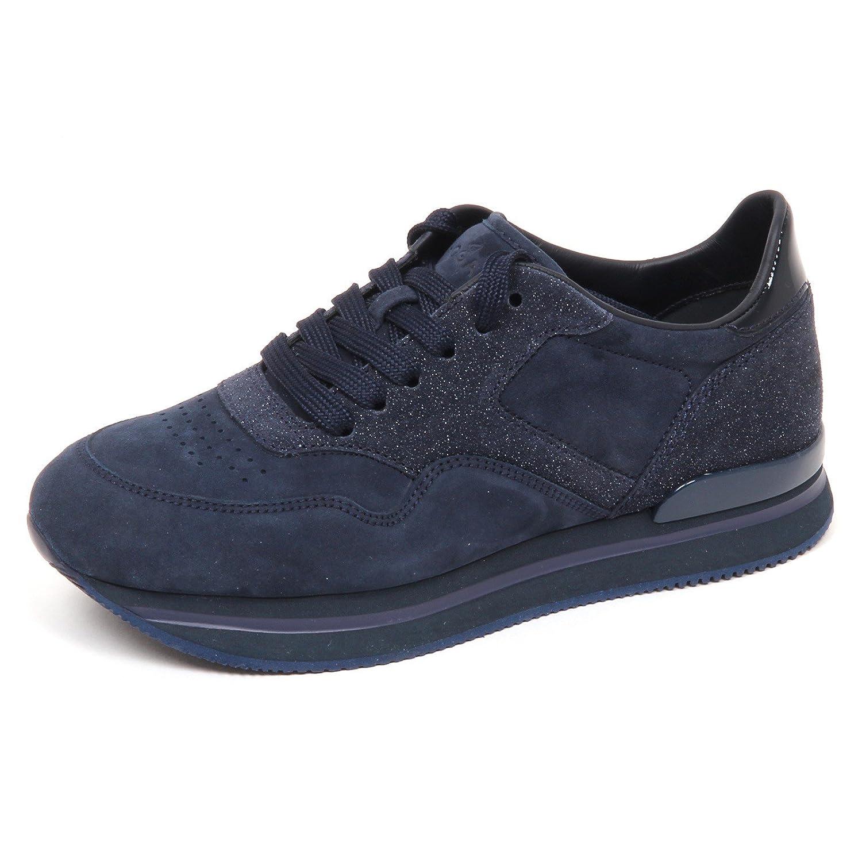 E4434 sneaker donna blu HOGAN H222 scarpe shoe woman