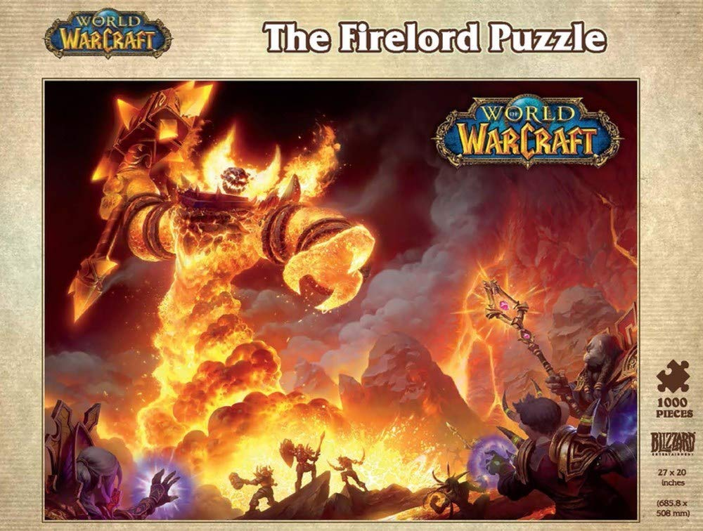 World of Warcraft: The Firelord Puzzle