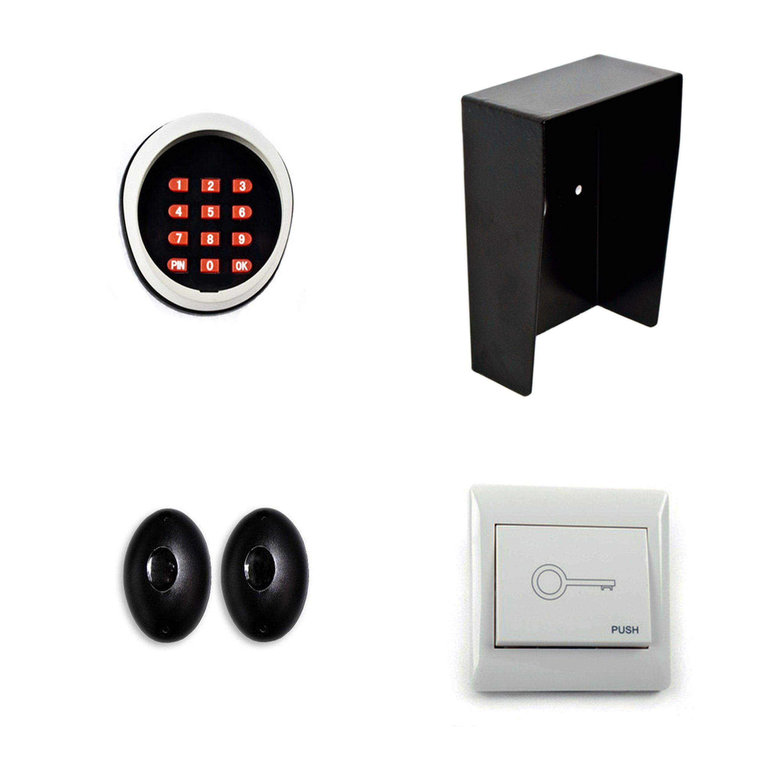 ALEKO ACC4 Accessory Kit for Aleko Gate Openers (Includes LM102, LM147, LM172 and LM169)