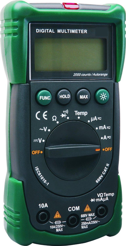 ELRO Multi/Amperemeter mit Automatischem Messbereich, M991 product image