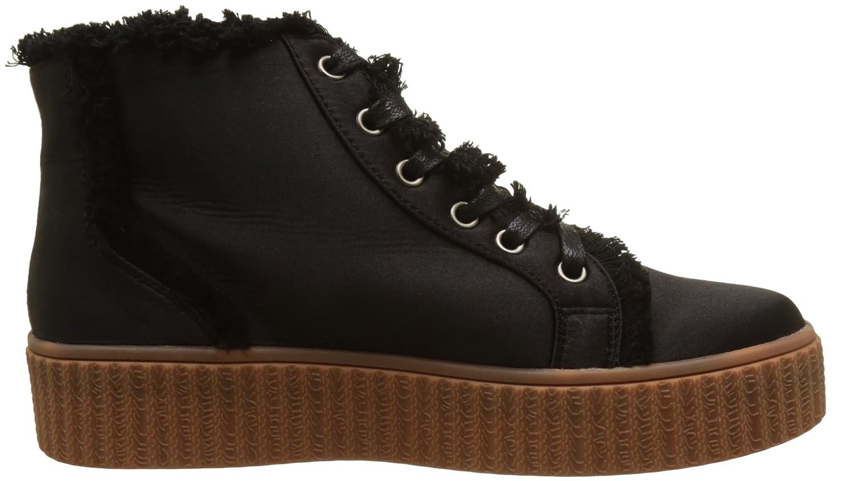 Alba Creepers, Baskets Hautes Femme, Noir (Black), 37 EULollipops
