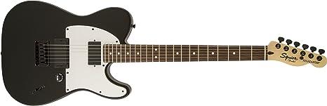 Guitarra Eléctrica Squier Jim Root Telecaster Flat BLK: Amazon.es ...