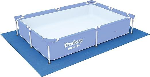 Tapiz de suelo para piscina Bestway 221 x 150 x 43 cm.: Amazon.es ...