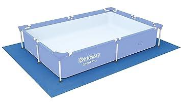 Tapiz de suelo para piscina Bestway 221 x 150 x 43 cm.