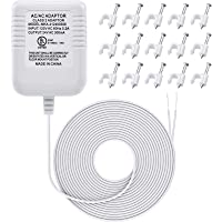 24 Volt Transformer, C Wire Adapter Thermostats, Compatible with Ecobee, Nest and Honeywell Smart WiFi Thermostat, Ring…