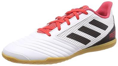 adidas Predator Tango 18.4 Sala, Chaussures de Football Homme, Noir (Core Black/Core Black/Utility Black F16), 41 1/3 EU