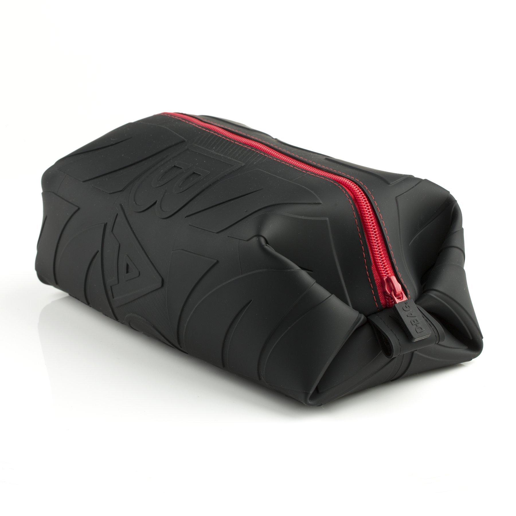 Wurkin Stiffs Leak Resistant Silicone Dopp Bag The D-Bag Black