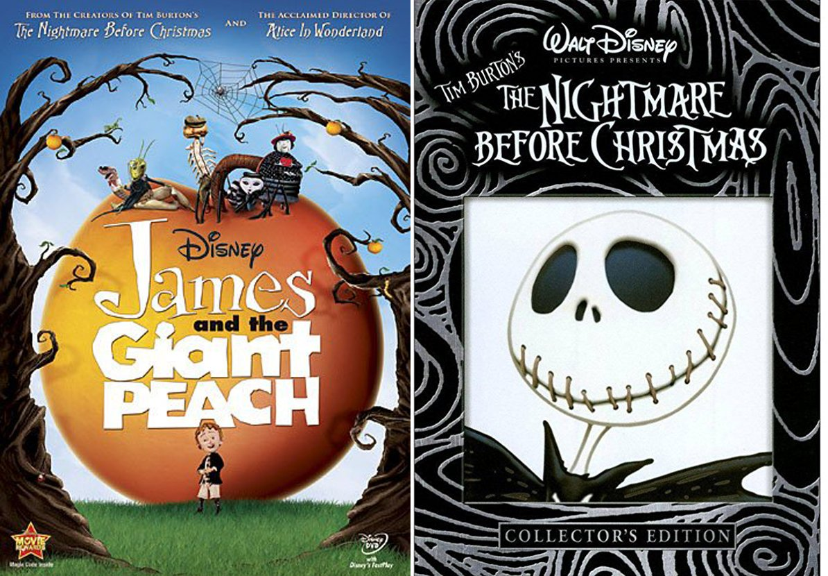 Amazon.com: The Nightmare Before Christmas DVD & James and the Giant ...
