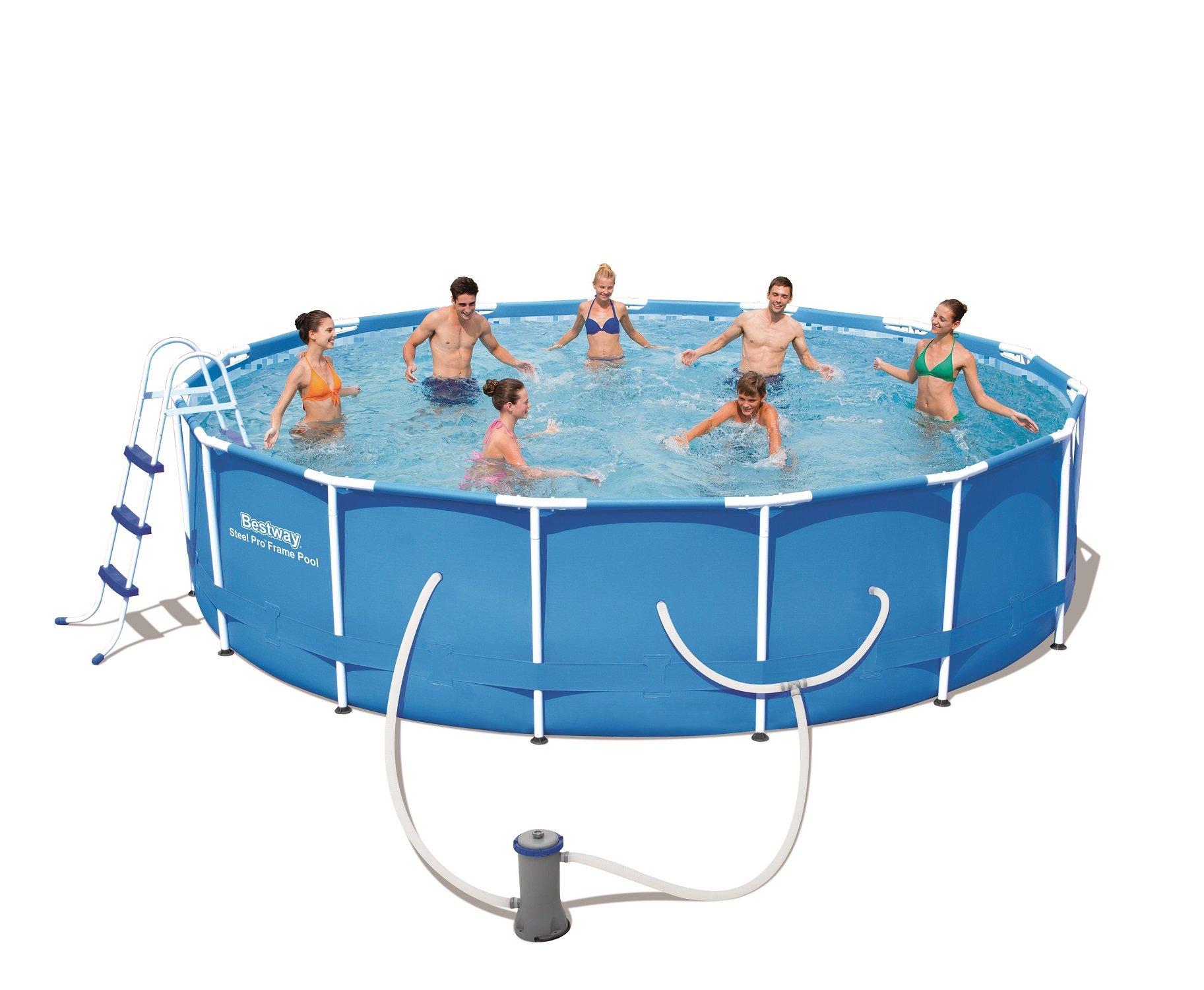 Steel Pro 15' x 42'' Frame Pool Set