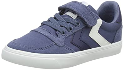 new product dda90 356b3 hummel Unisex-Kinder Slimmer Stadil Low Jr Sneaker