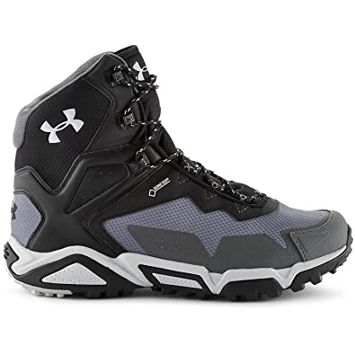 Amazon.com | Under Armour UA Tabor Ridge Mid Boot - Men's Graphite / Black  / Aluminum 12 | Shoes