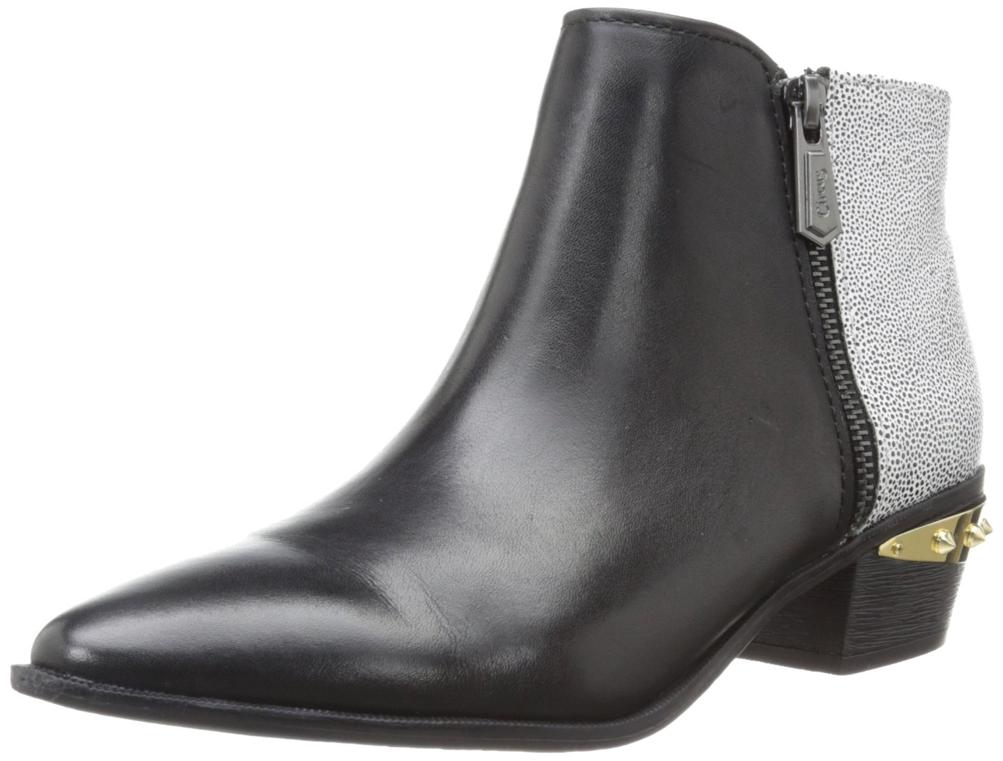 Circus by Sam Edelman Women's Holt Ankle Boot B00BF2H2DU 7 B(M) US|Black/White