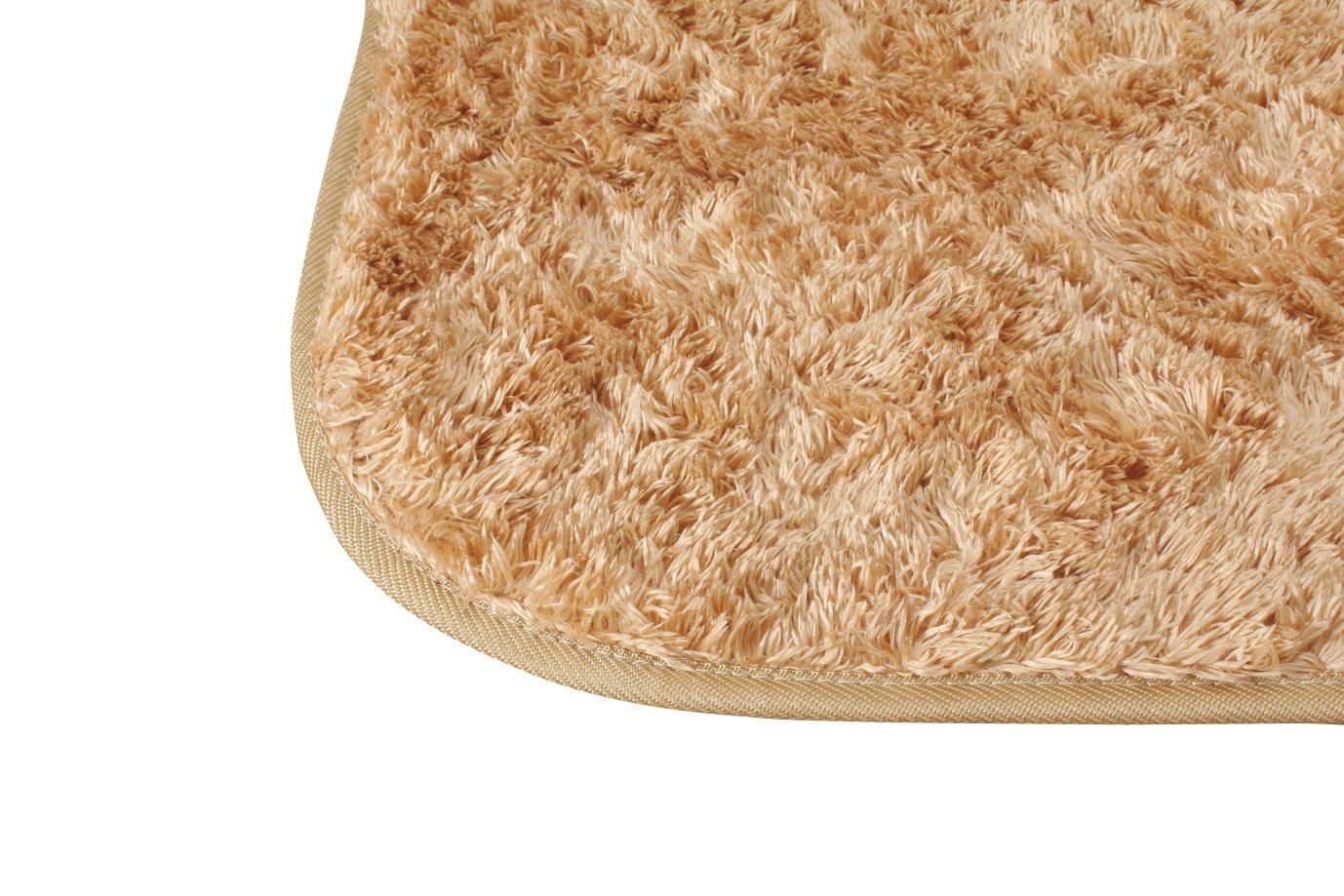 アイリスオーヤマ ラグカーペット シャギー 230×230cm クッキー MPS-2323 B008S62SJ4 クッキー