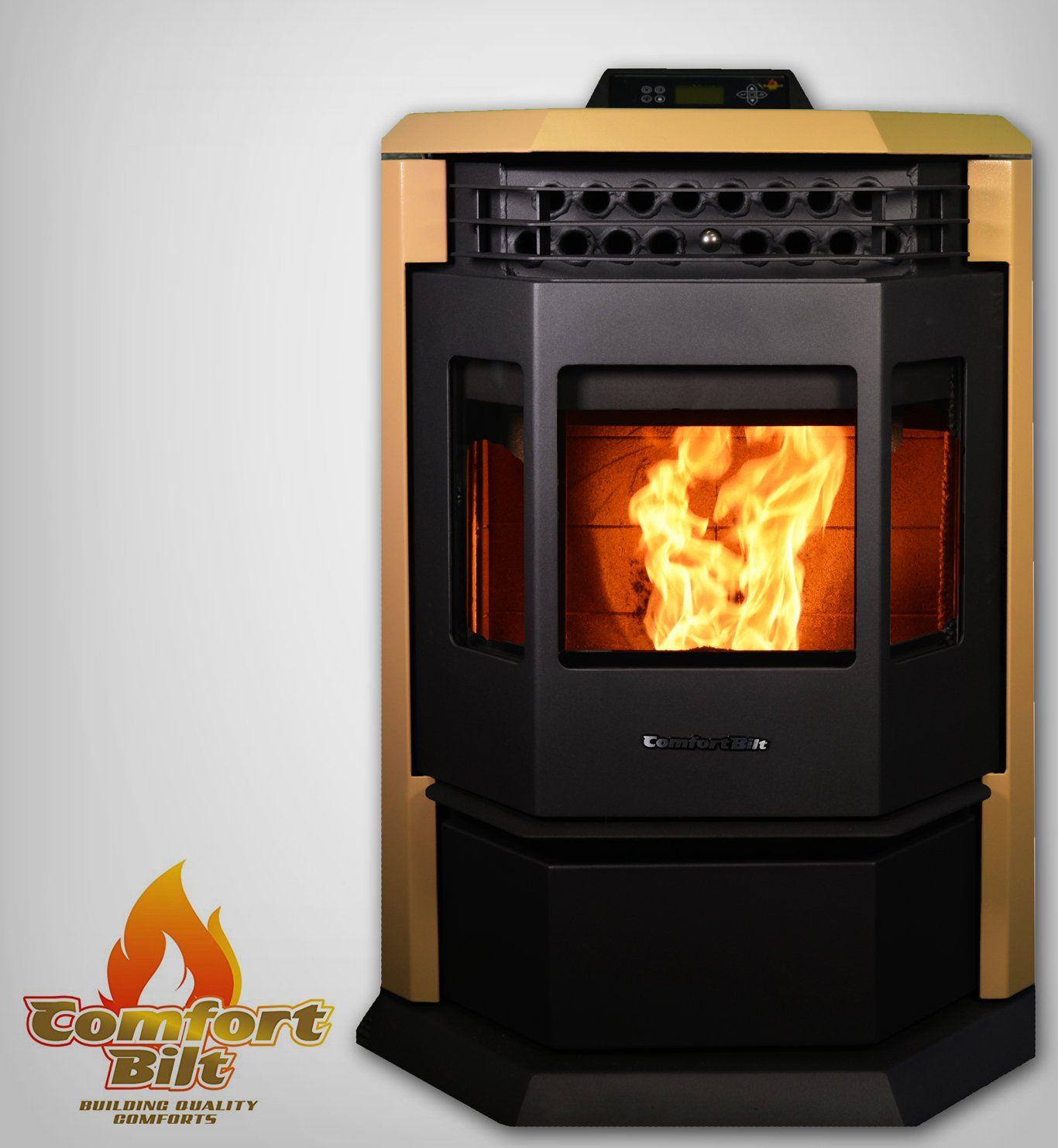Comfortbilt Pellet Stove-HP22 50,000 BTU - Now Available in Apricot! by Comfortbilt