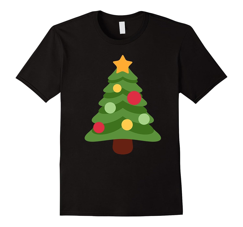 Christmas Tree Emoji Tee Shirt-ANZ