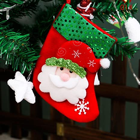 Christmas Santa Claus Ornaments Festival Party Xmas Tree Hanging Decoration Tool