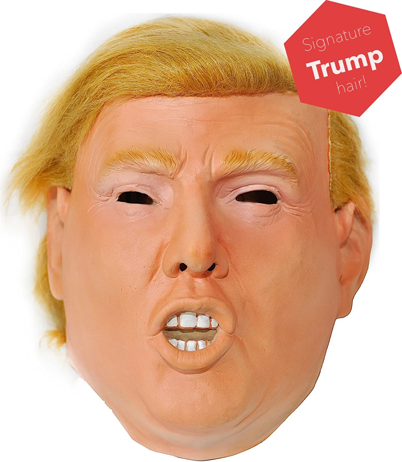 Amazon.com: Donald Trump Celebrity Latex Mask Ideal for Parties ...