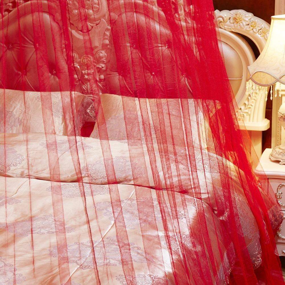 Plafond de d/ôme B/éb/é Moustiquaire Grande taille baldaquin ciel de lit pour lit double Intensification Maille dense Filet de lit moustiquaire