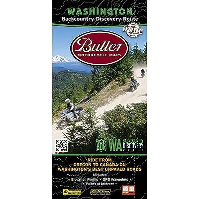 Butler Maps Backcountry Discovery Route Maps (Washington): Butler Motorcycle Maps: Automotive