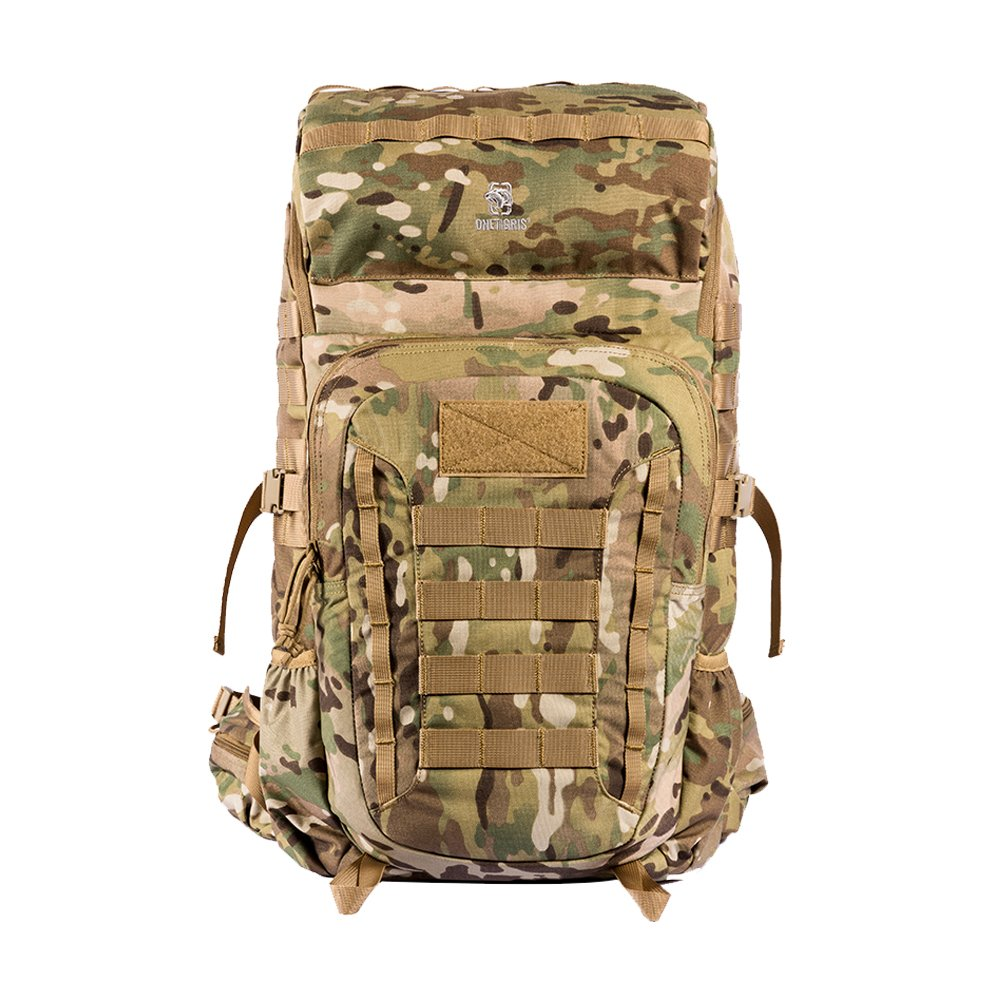 OneTigris Outdoor Rover 50L Pack, Expandable Tactical Pack for Hiking, Trekking, Camping, Original Design (Multicam)