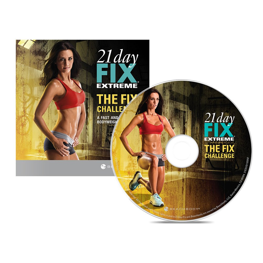 Beachbody The Fix Challenge: Introductory Workout DVD to 21 Day Fix Extreme - 1 workout by Beachbody