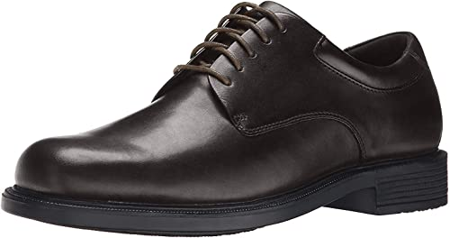 TALLA 45 1/3 EU. Rockport Margin Black, Zapatos de Cordones Derby para Hombre