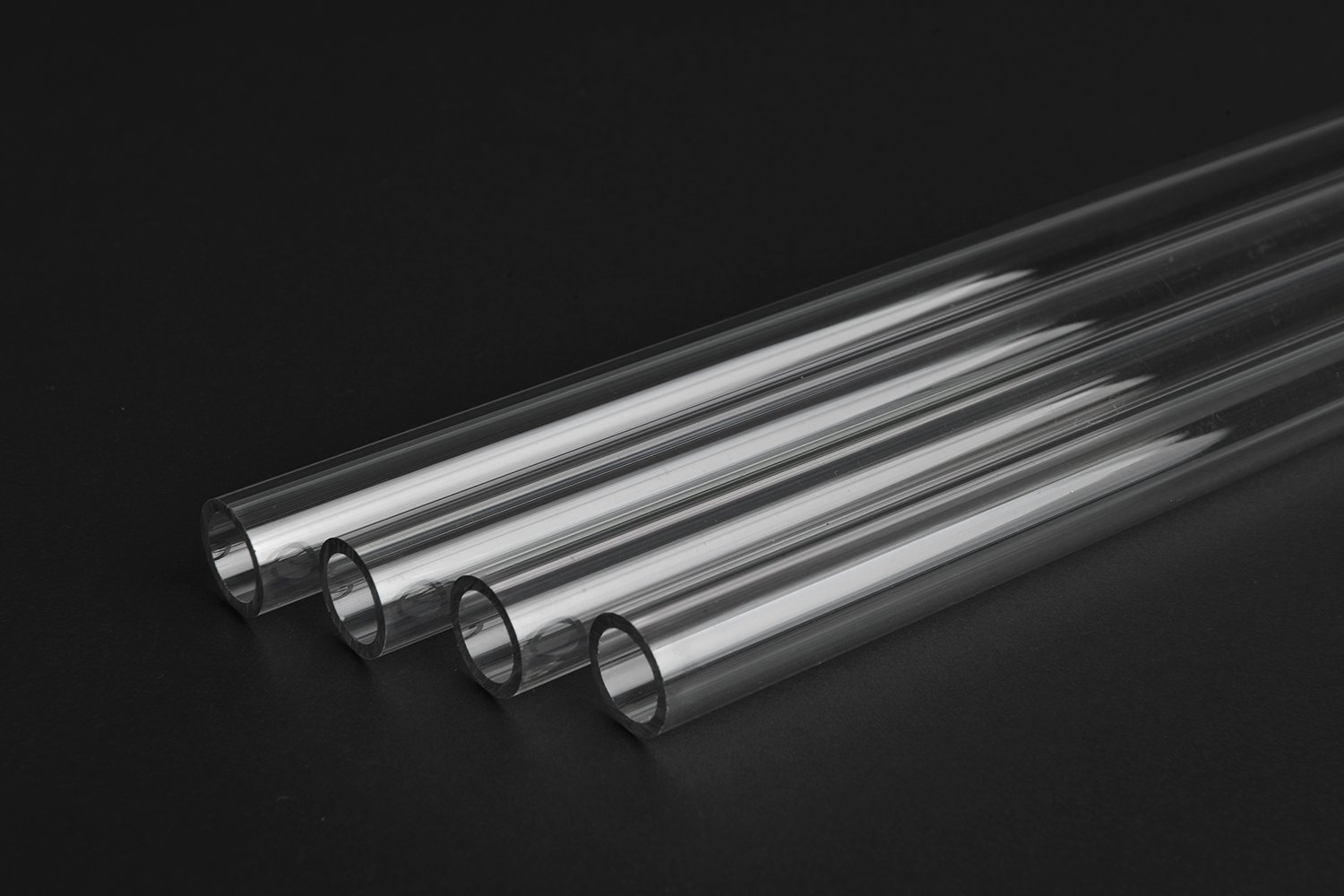 Thermaltake Pacific DIY LCS 500mm Lengths V-Tubler PETG Hard Tubing (4-Pack) OD 16mm (5/8'') x ID 12mm (1/2'') CL-W065-PL16TR-A by Thermaltake (Image #2)