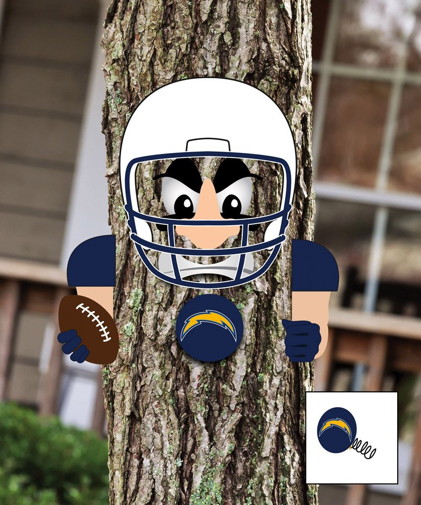 NFL PLAYERツリー面Statue NFL Team : San Diego Chargers B00L6Q262W