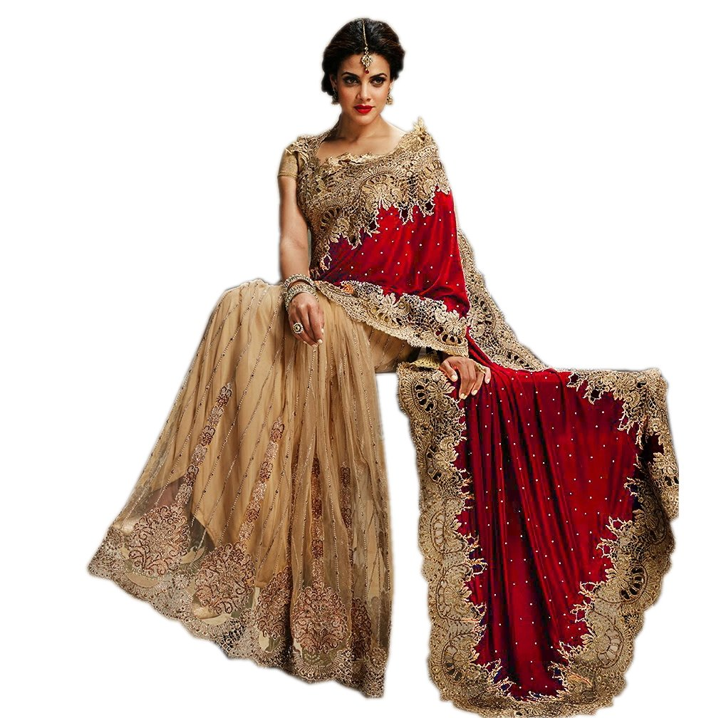 Sari Wedding Dress: Amazon.co.uk