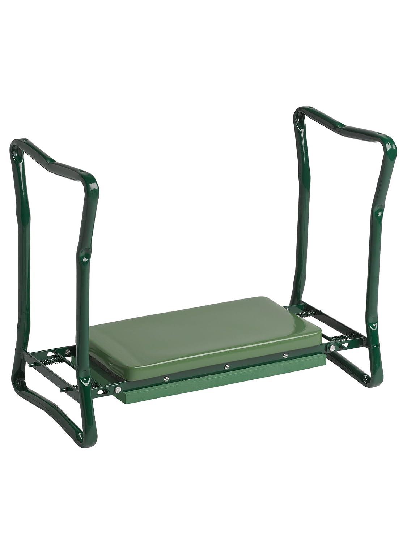 Amazon.com: Gardeneru0027s Supply Company Extra Wide Seat Folding Garden  Kneeler Green: Garden U0026 Outdoor