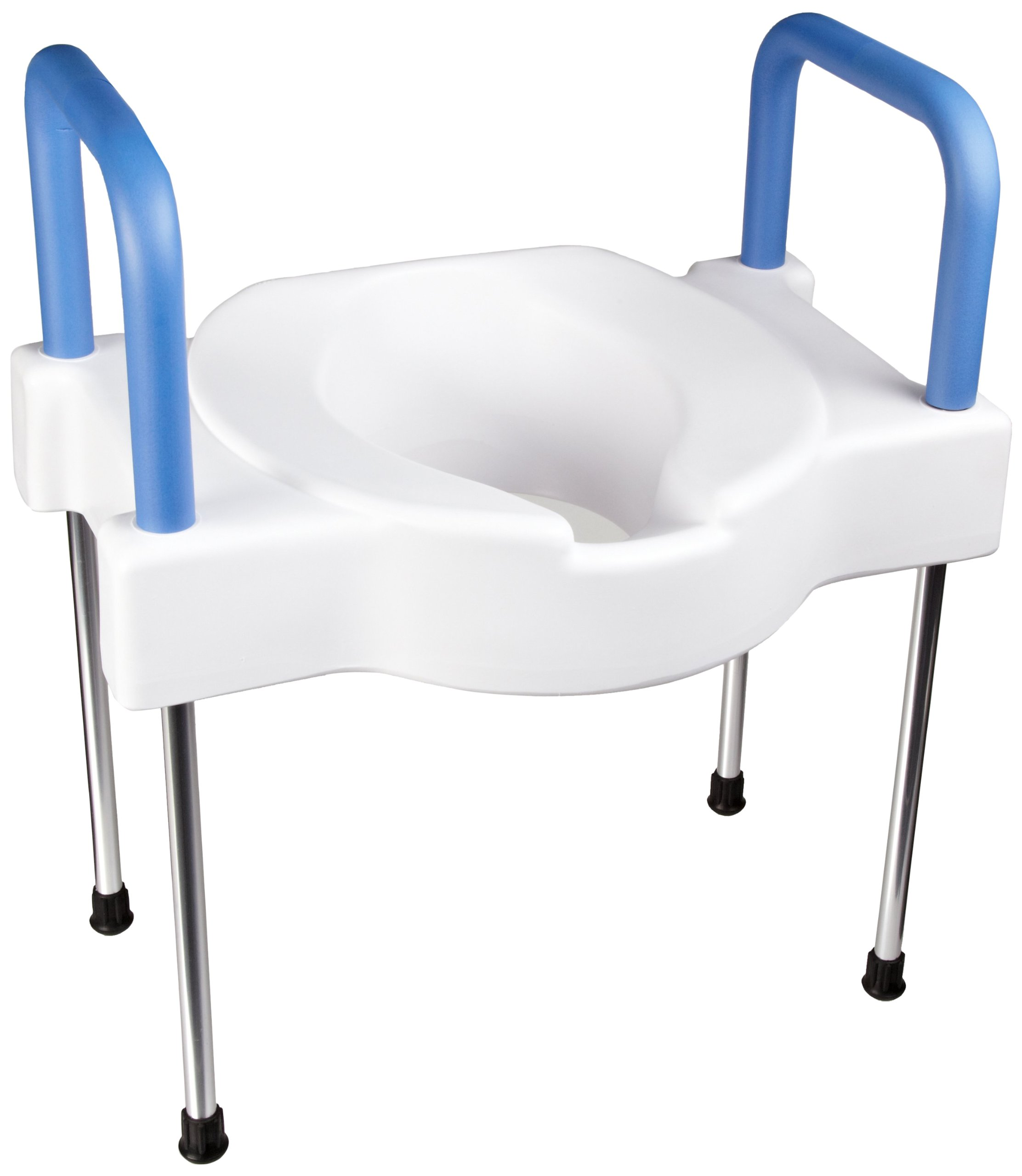 SP Ableware Tall-Ette Elevated Toilet Seat with Extra Wide Seating Surface and Legs (725881000)