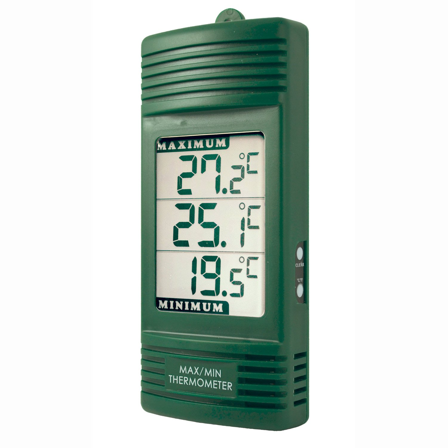 Digital Max/Min Thermometer, Green ETI