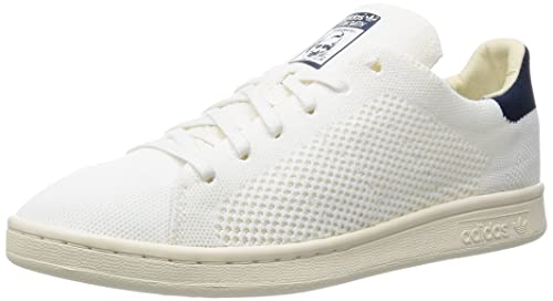 adidas Stan Smith Og Primeknit, Scarpe da Ginnastica Basse Uomo, Bianco Footwear Chalk White